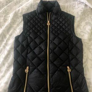 Michael Kors Black Quilted Vest